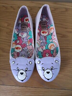 Iron fist lilac care bear shoes size 6 flats