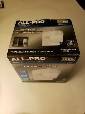 All-pro Security Lighting  LED Area And Wall