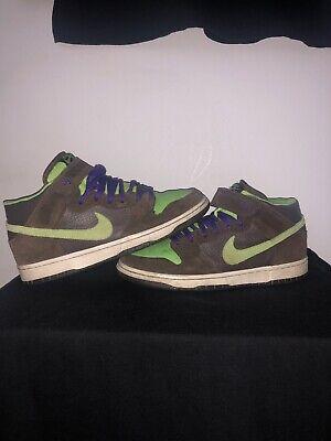 2007 Nike SB Dunk Mid Donatello size UK 8