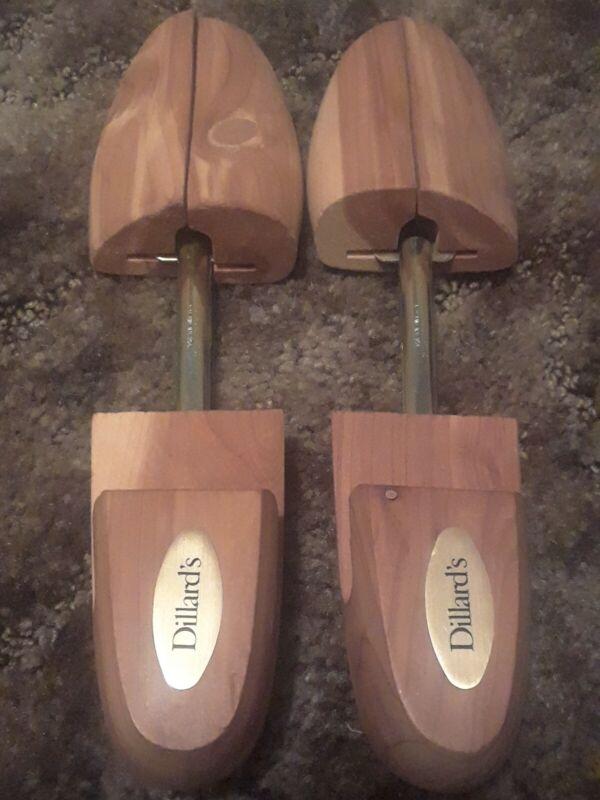 Three Sets of Dillards Cedar Shoe Trees/Stretcher Inserts