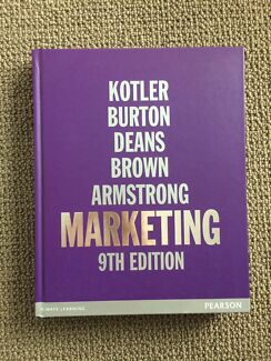 Marketing 9ED Kotler Burton Deans Brown Armstrong
