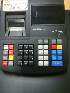 Electronic cash register till retail or commercial catering baker