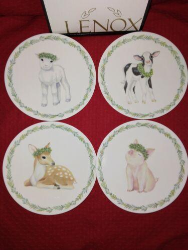 Lenox Petite Meadows 4 Piece Party Plate Set