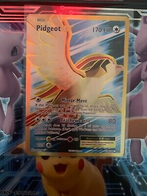 POKEMON PIDGEOT EX 104/108 ULTRA RARE FULL ART EVOLUTIONS MINT PACK FRESH