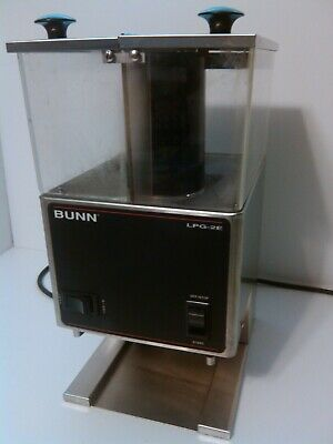 Commercial Bunn Lpg-2e Coffee Grinder