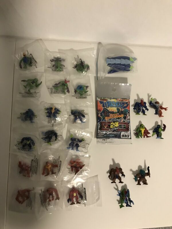 Fistful Of Aliens Exogini Lot - Ramms - Japaneese Serie 2 Blister