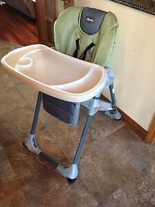 Chicco high chair in great shape