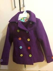 Littlemissmatched size 4 dress coat