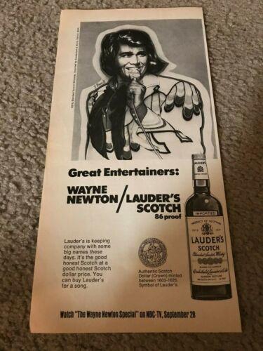 Vintage 1974 WAYNE NEWTON TV SPECIAL LAUDER