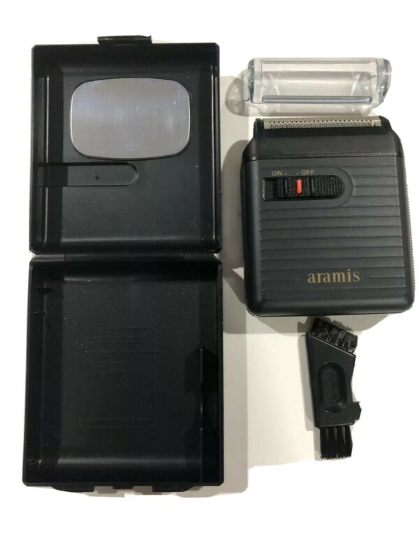 Aramis Electronic Razor Complete With Case Vintage
