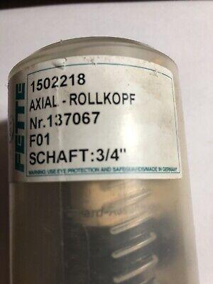 Lmt Fette - 34 Shank Diam F01 Thread Rolling Die Head - Axial 532-14