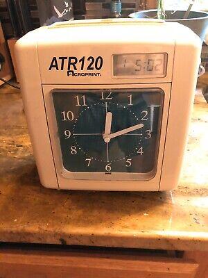 Acroprint Atr120 Time Clock