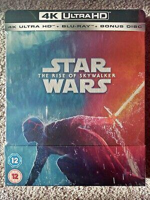 Star Wars: The Rise of Skywalker - 4K HD + 2D Steelbook Edition - Factory sealed