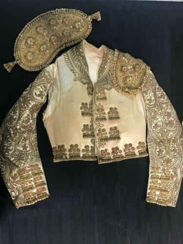 Antique Matador Bullfighter Suit of Lights