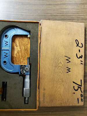 3 To 4 Metric Outside Micrometer