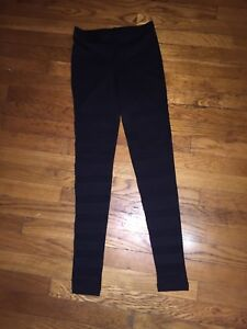 Forever 21 leggings with mesh inserts