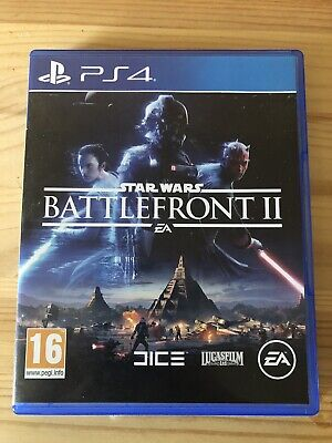 Star Wars: Battlefront II (PlayStation 4, 2017)