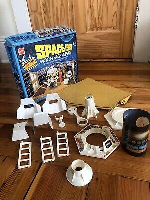 VINTAGE SPACE 1999 MATTEL MOON BASE ALPHA CONTROL ROOM EAGLE ONE PLAYSET W/ BOX