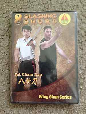 Ving Tsun Museum's Advanced Wing Chun Training DVD-Pat Cham Dao 8 Slashing Sword