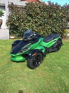 Can am spyder rss semi automatic Millbridge Dardanup Area Preview