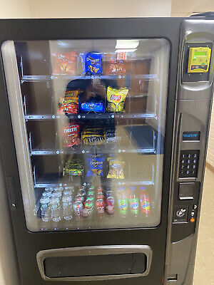 Wittern Usi Combo Vending Machine With Nayax Card Reader