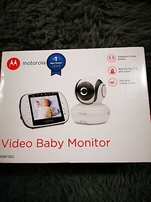 "Motorola MBP36S 3.5"" Video Baby Monitor- 2017"
