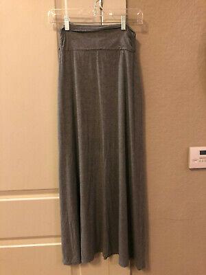Target Merona Gray Long Summer Skirt XS (Target Long Skirts)