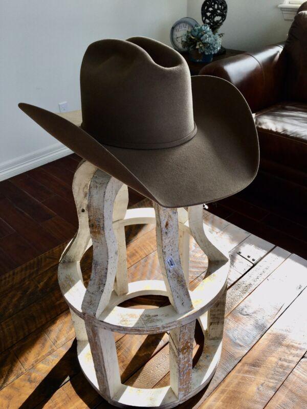 20x Western Tan Hat 6 3/4 Felt BEAVER 20x  Atwood Hat Co. Cowboy Hat Light Brown