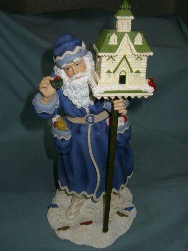 "Pipka The Christmas Greeter Memories of Christmas 11"" Santa IOB"