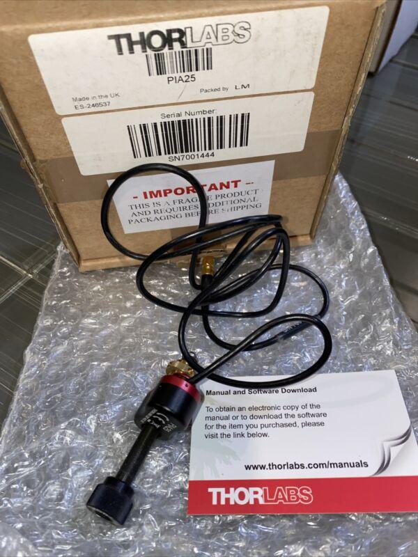 thorlabs  PIA25 - Piezoelectric  Piezo Inertia Actuator with 25 mm Travel $550