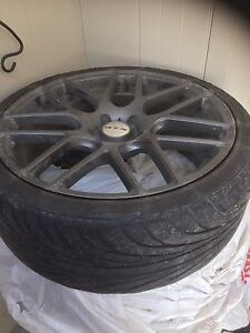 4 RTX Envy rims and Nankang tires 245/35RZ20