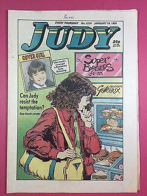 JUDY - Stories For Girls - No.1514 - January 14, 1989 - Comic Style Magazine