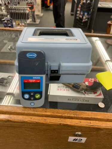 Hach DR300 Chlorine Pocket Colorimeter II (Free and Total)