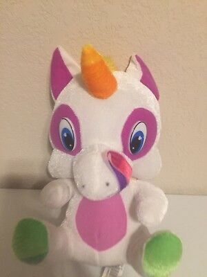 Unicorn plush plushie 9 in tall soft classic toy Company
