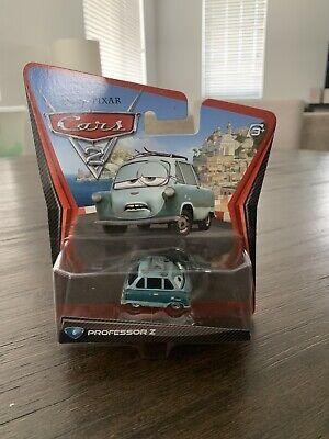 Disney Cars 2 Diecast Professor Z New Sealed Mattel