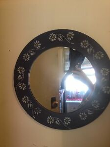Hand painted mirror Corrimal Wollongong Area Preview
