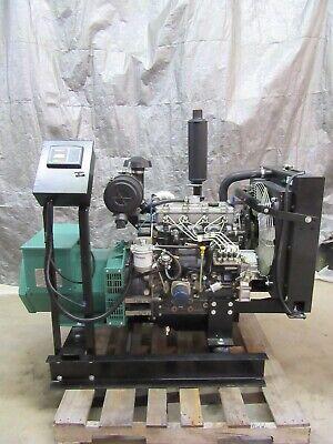 New 30 Kw Diesel Generator Perkins Cat C2.2 Diesel 120240 Volt Re-connectable