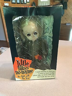 Vintage 1965 Hasbro Little Miss No Name Doll With Original Box Big Eyes Tear NM