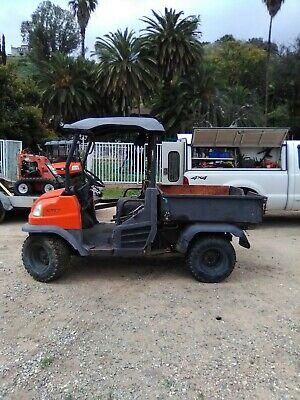 2005 KUBOTA RTV 900 ATV 4X4 UTILITY CART DUMP BED DIESEL