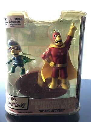 mcfarlane toys The Simpsons Radioactive Man & Fall Out Boy](Fall Out Boy Simpsons)