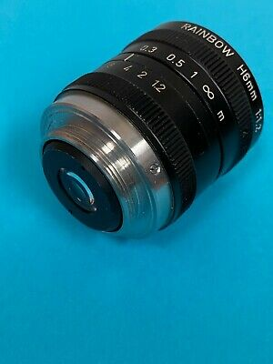 Rainbow H6mm Security Camera Lens 11.2 12inch Used  Free Shipping