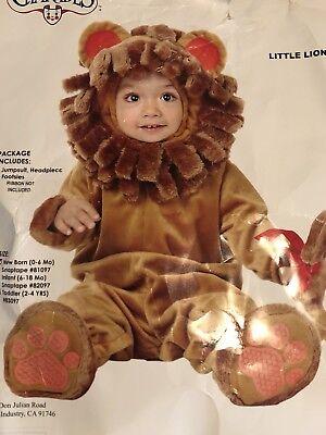 Little Lion Plush Costume Size 0-6 months