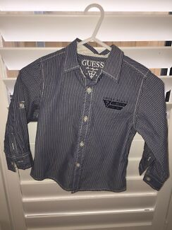 Wanted: GUESS BOYS L/S BUTTON UP SHIRT BNWOT. size 3