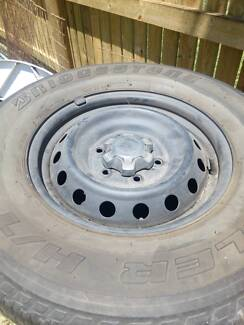 Ford Ranger Rims and Tyres