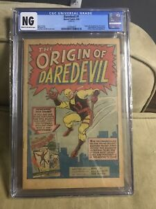 Daredevil #1 CGC NG FIRST APPEARANCE OF DAREDEVIL