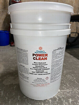 Floridas Best Cleaner Power Clean All-purpose Degreaser 6 Gallon Container