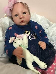 "21"" Reborn Baby Girl Doll lifelike reborn baby so REAL Docklands Melbourne City Preview"