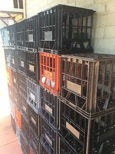 Free milk crates. Waterford South Perth Area Preview