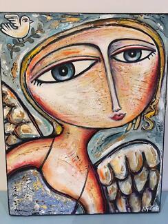 Nigel Gillings original art.
