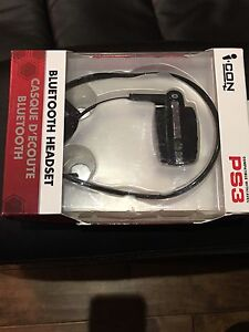 Icon Bluetooth headset for PS3